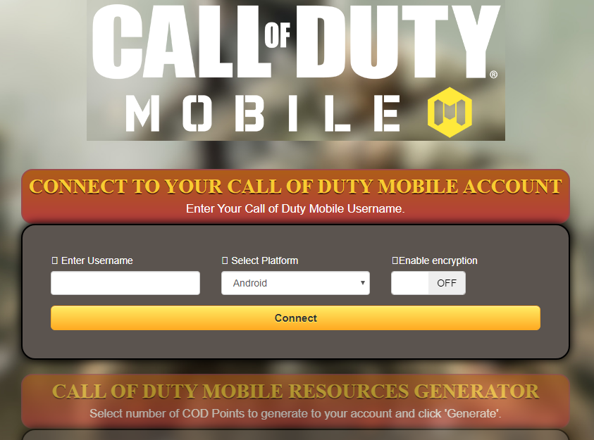 Call of Duty Mobile: CHEATS - Free COD Points Generator ... -