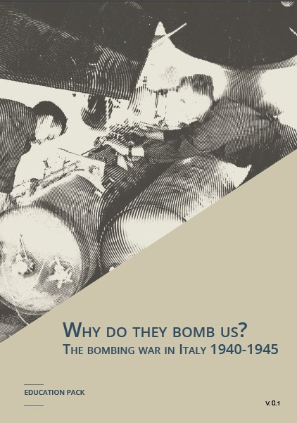 Cover of the volume. An aircrew with bombs -WW2