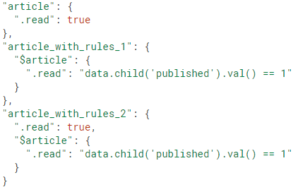Learning Firebase: Structuring your data to show filtered
