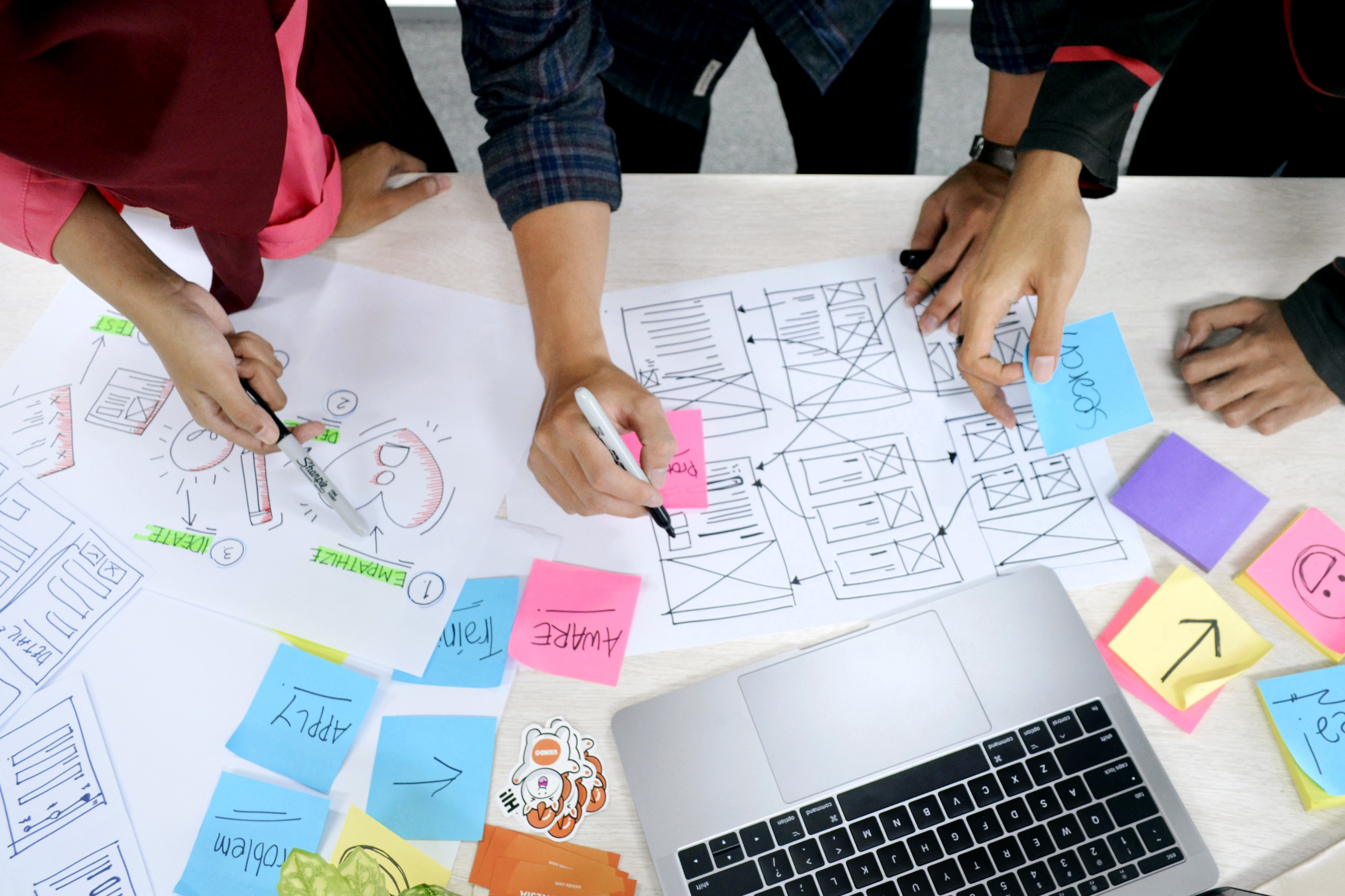 Image result for ideate stage design thinking