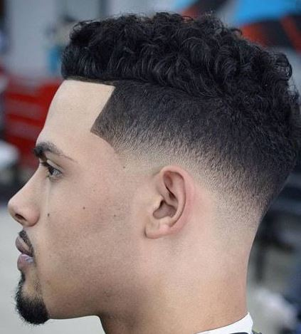 Medium Length Thick Hair Fade Hairstyles For Men 90