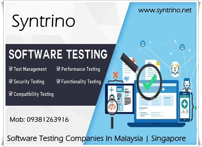 All You Need To Know About Software Testing By Syntrino Site Medium