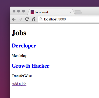How to create a simple jobs board in Ruby on Rails — even if you've