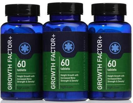 The HGH supplement Growth Factor Plus