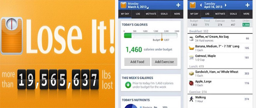 Top 5 Android Apps for Weight Loss, Calorie Counter and Diet