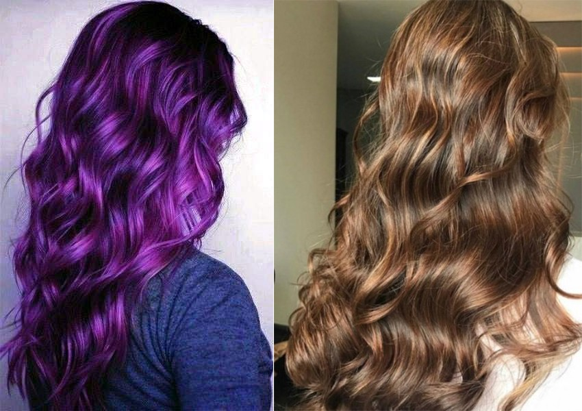 What happens if you put brown dye on purple hair? - BeeQueen