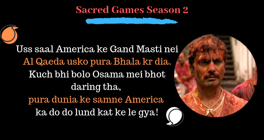 5 Sacred Games Season 2 Dialogues That Are Hilarious Jibes