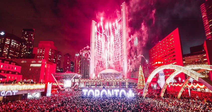 Livestream Nathan Phillips Square New Year S Eve Fireworks
