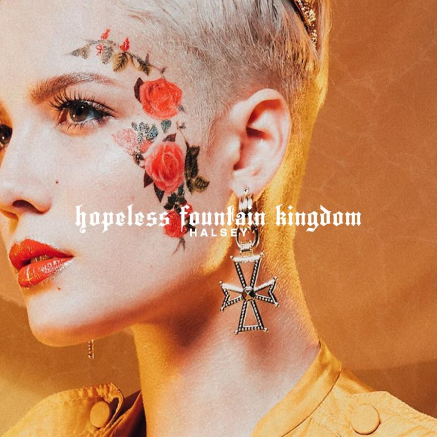 Halsey // 'hopeless fountain kingdom' as a modern day 'Romeo