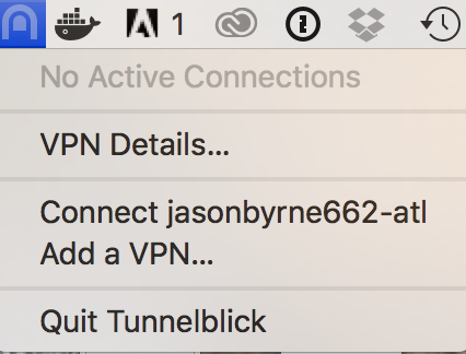 Connecting to OpenVPN with Tunnelblick on Mac OSX - Jason