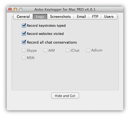 Keylogger for mac download