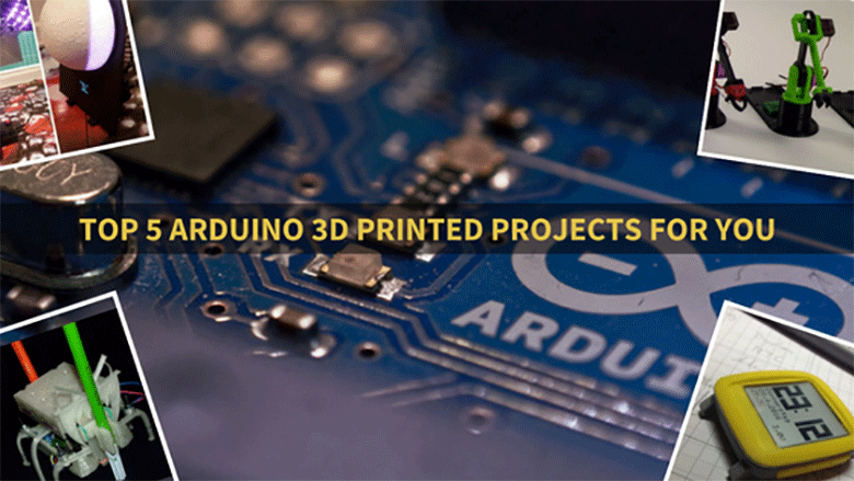 Arduino Day Special: Top 5 Arduino 3D Printed Projects you can do!