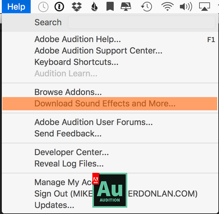124: Quick Tip: Download Free Sound Effects & Music Beds in Adobe