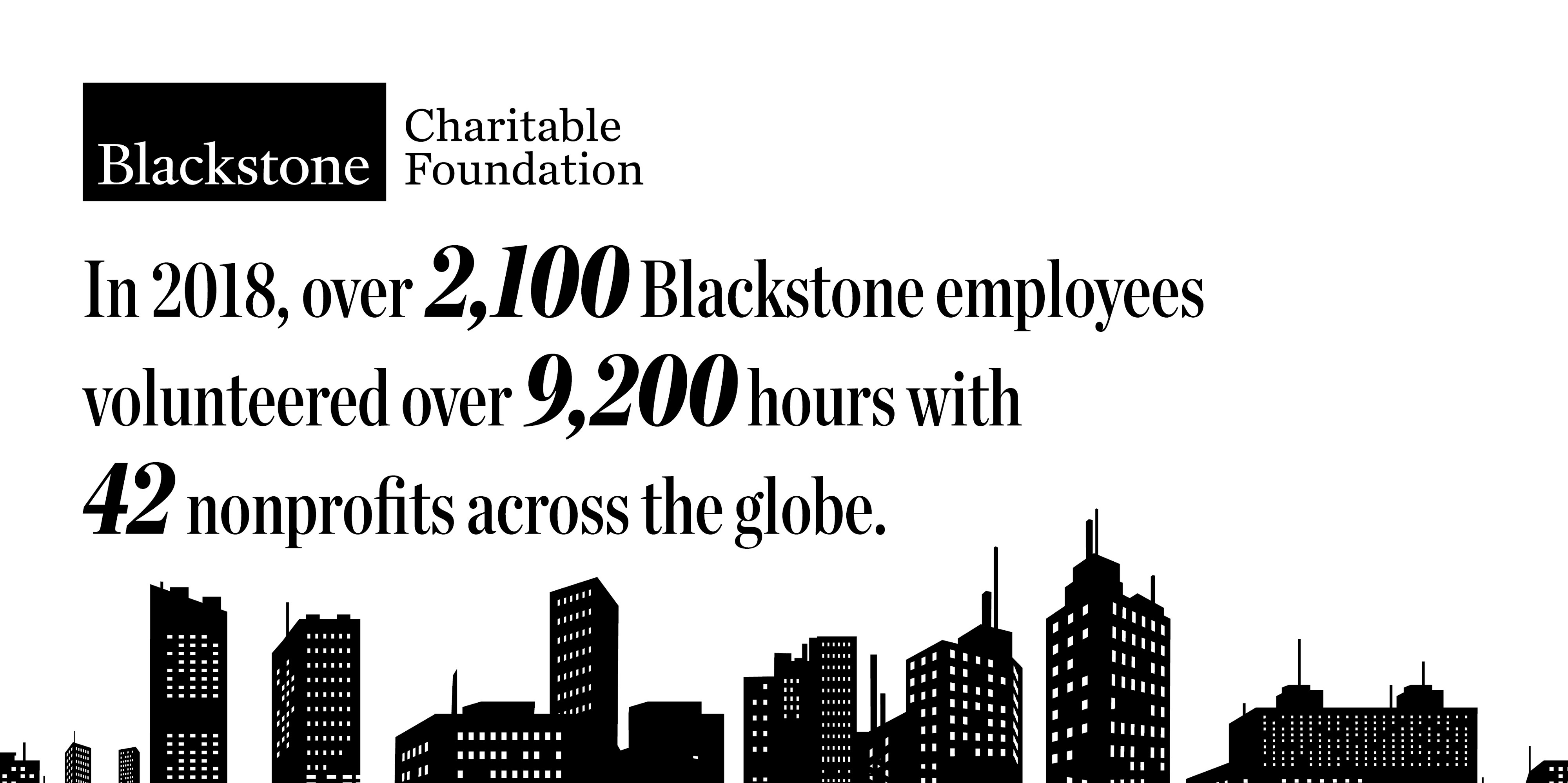 A Year in Review: Blackstone Employees Complete over 9,200