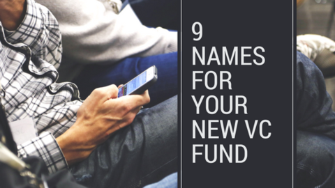 names for a new venture capital fund