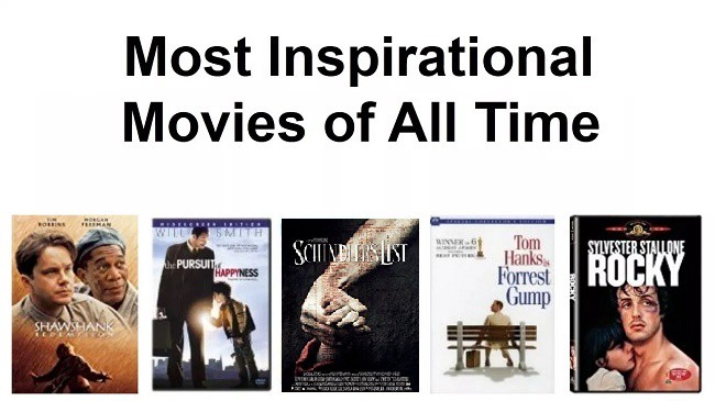 Best Inspirational Movies Of All Time - Prashant Shah - Medium