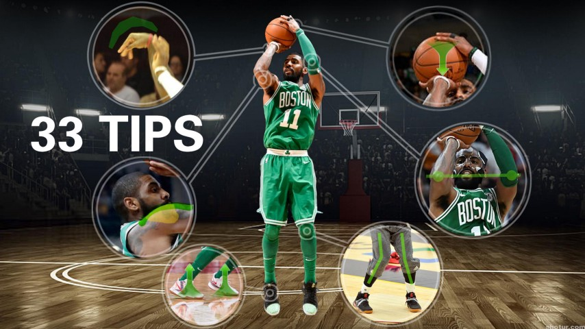 How To: Kyrie Irving Shooting Form With 33 Tips – Shotur Basketball