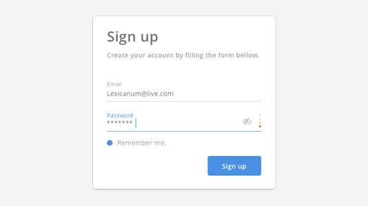 test a signup page problems test cases and template