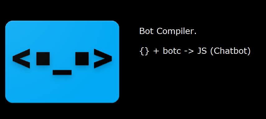 Bot Compiler — Write Dialog tree in JSON and add code only