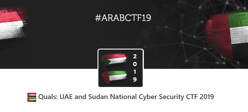 UAE and Sudan National Cyber Security CTF 2019 — Solutions
