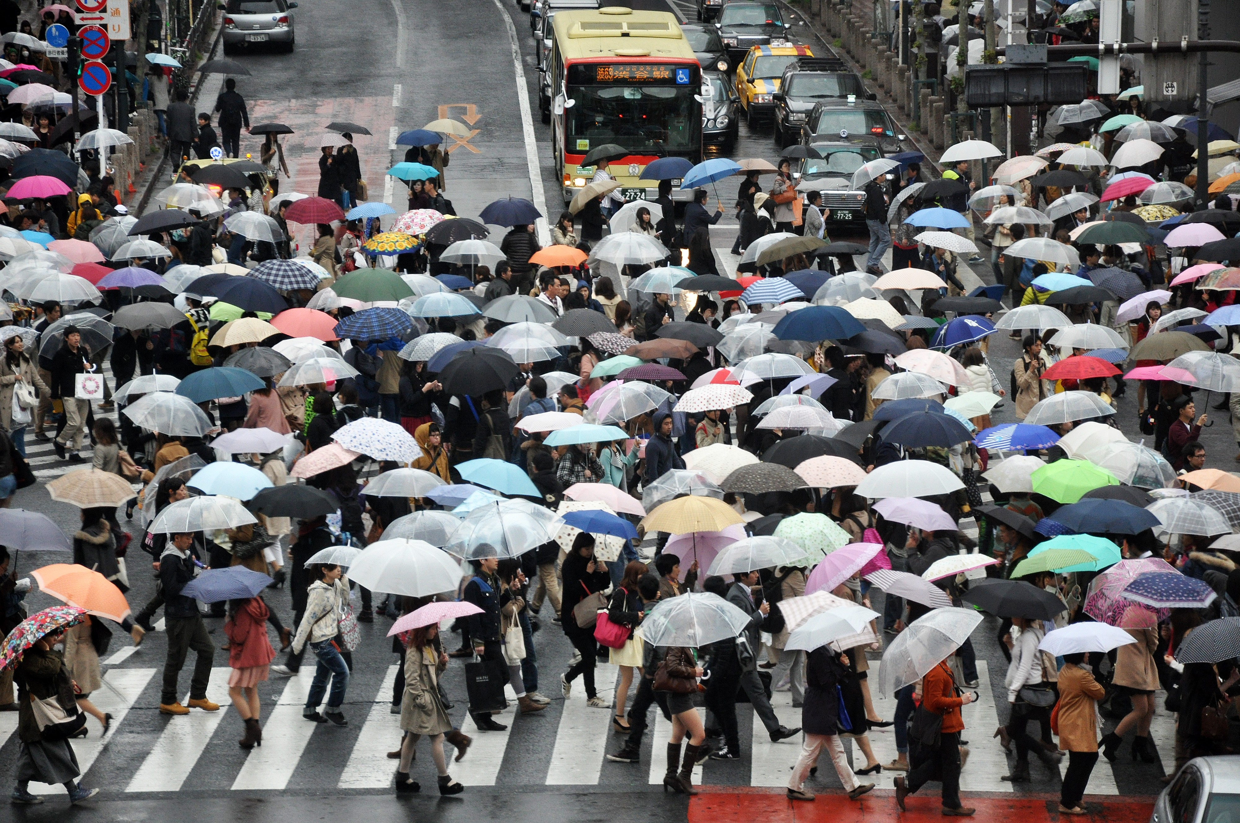The crowds of Tokyo
