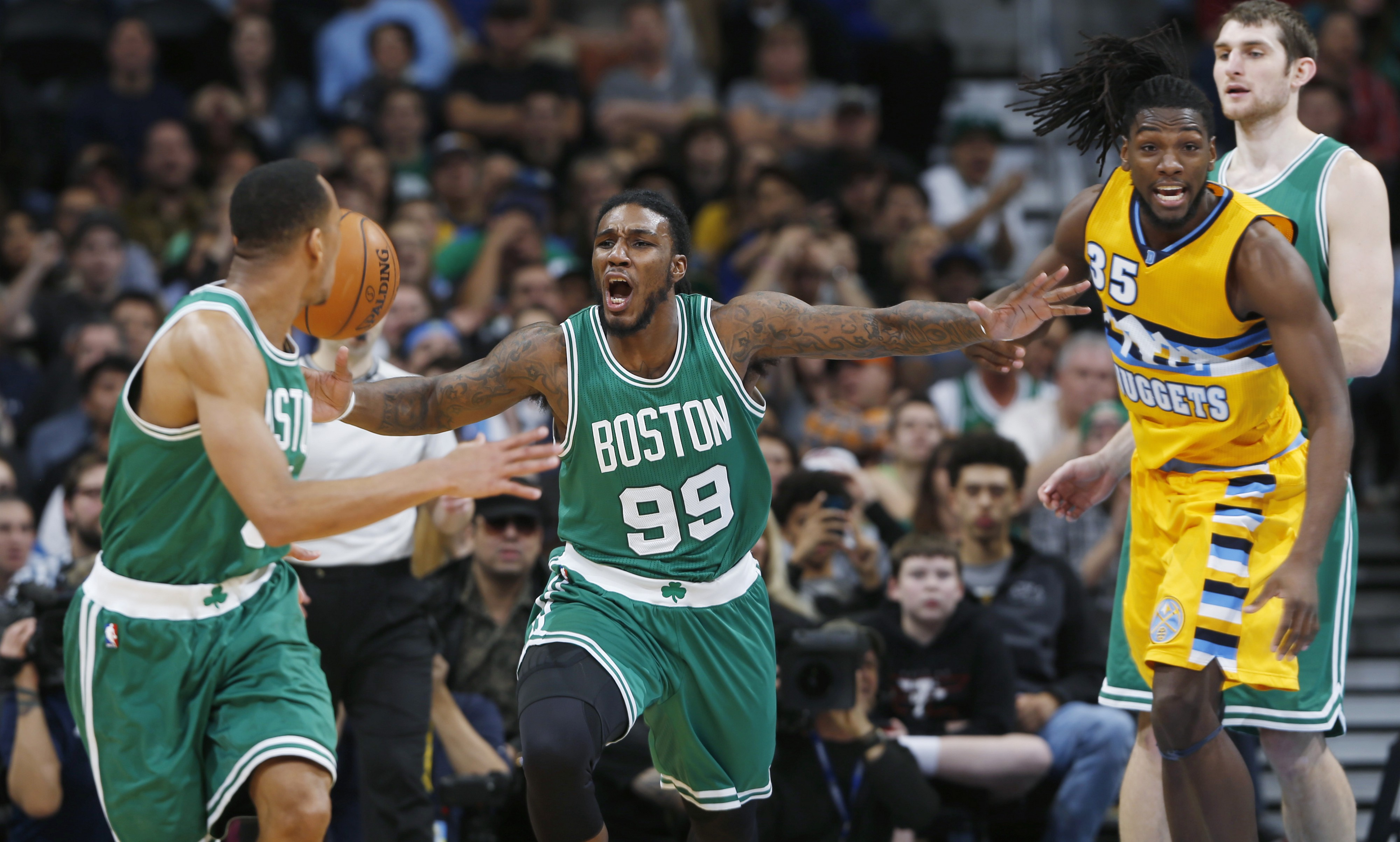 competitive price ff353 a2c16 What's Up With The Celtics? Ask Jae Crowder And Avery Bradley