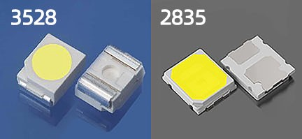 The Difference Between 2835 and 3528  by Decor-Lighting  Medium