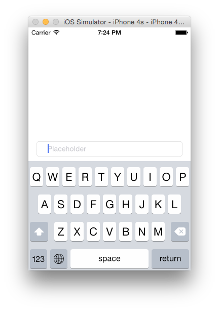 How to set padding for UITextField in Swift — the easiest way