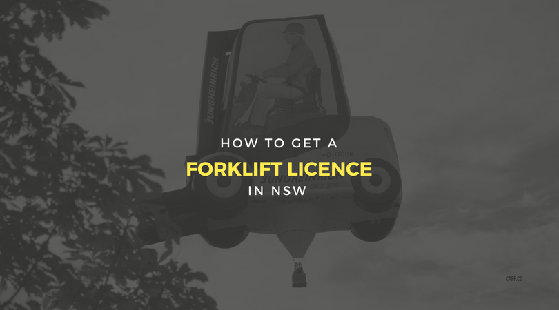 How To Get A Forklift Licence In Nsw Training Certification