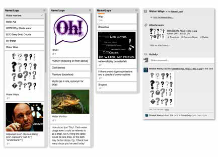 Water Whys Trello Ideation— Design A Digital Product For Sustainability by Paul Myers