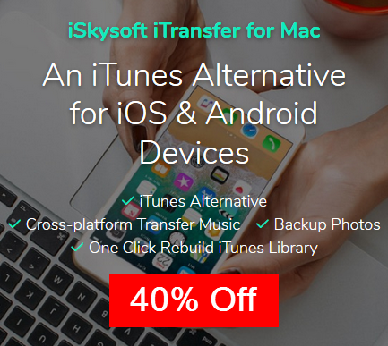 40% Off — iSkysoft iTransfer Discount Coupon Code - Data