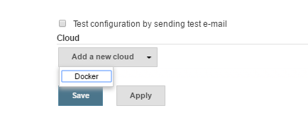 Docker Add new cloud