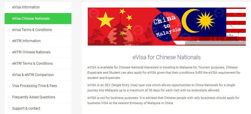 Evisa Information For China For The Most Part An Evisa Is An By Key Malaysia Medium