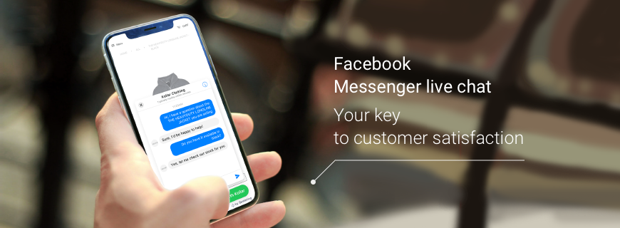 Introducing the free Facebook messenger live chat app for