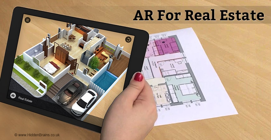 How Augmented Reality Benefits Real Estate Business By Immersive Gaze Medium