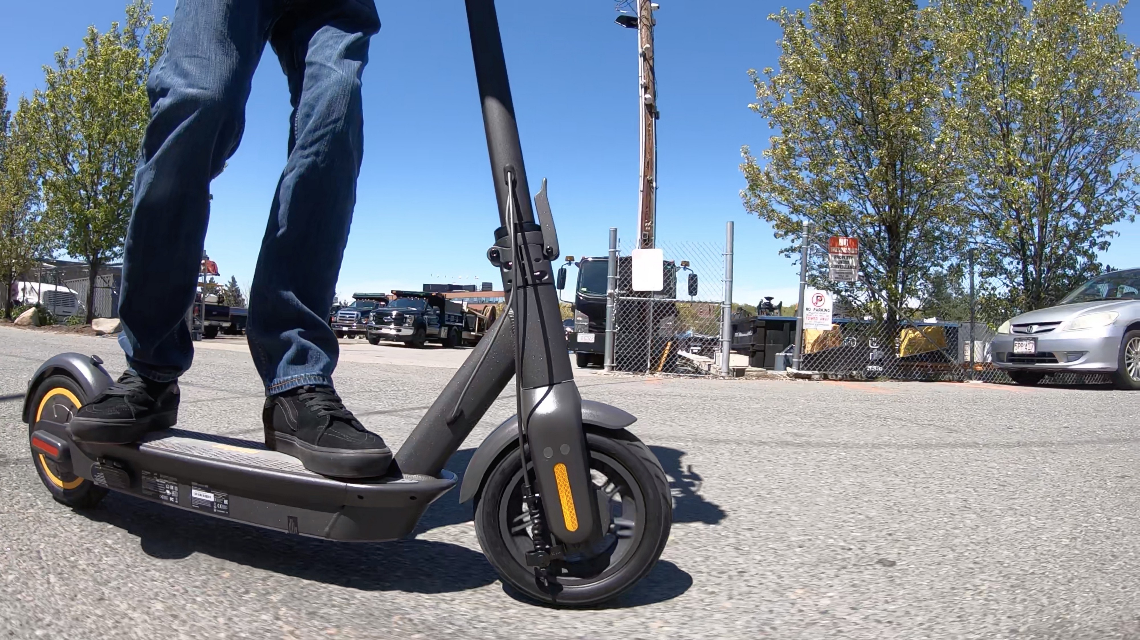 Review: Ninebot MAX — 40 mile range e-scooter! - Tech We Want