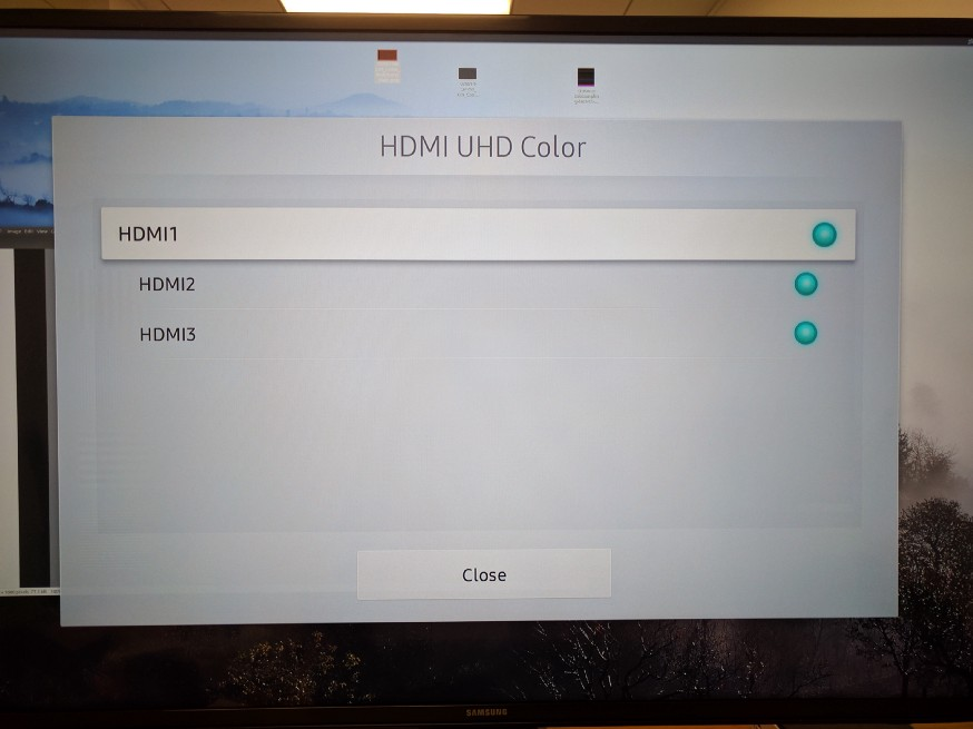 Using the Samsung MU6300 40