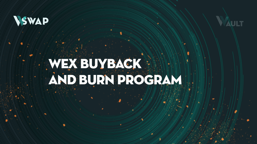 Announcing 100% of WSwap trading fees going to buyback and burn of WEX
