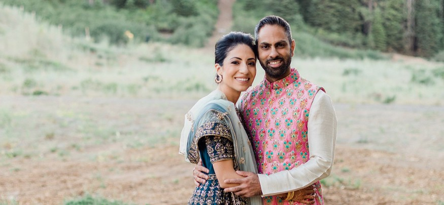Ramit Sethi with kind, Wife Cassandra Campa