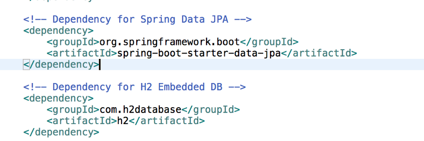 Spring Data and Embedded Dependency