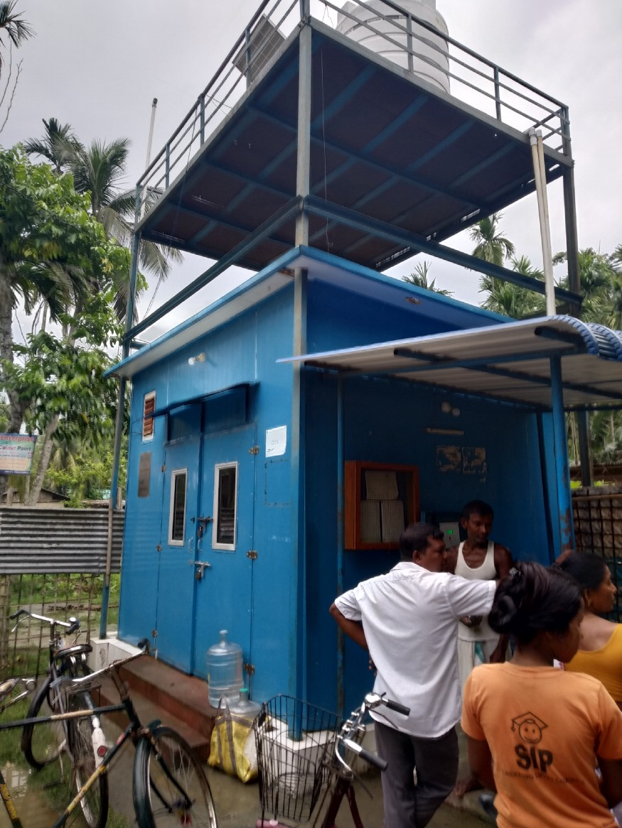 The Water ATM in Nalbari. Image credit: Rohit Sar
