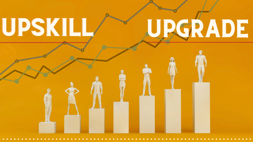 Upskill & Upgrade for business online