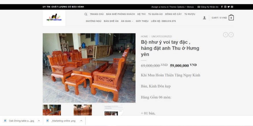 Product Furniture high ticket sale