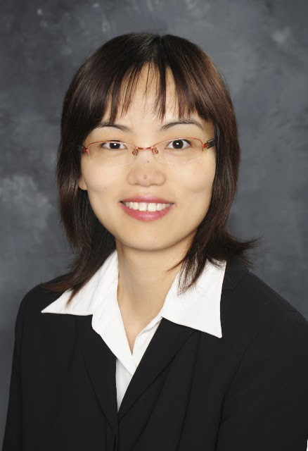 A headshot of Dr. Louise Zhang, Cruise's new VP of Product Safety.