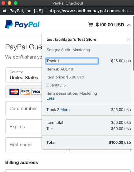 Integrating New PayPal Smart Buttons with Vue js Quasar and iOS