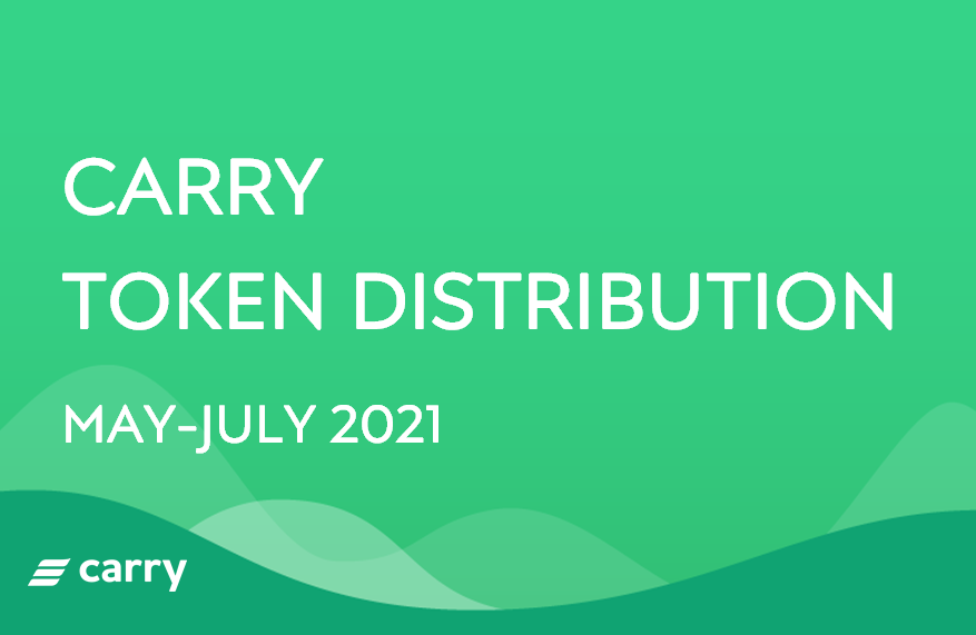 Carry Token Distribution (May-July 2021)