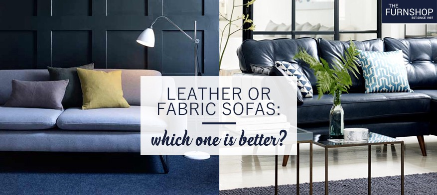 Leather Or Fabric Sofas Which One Is