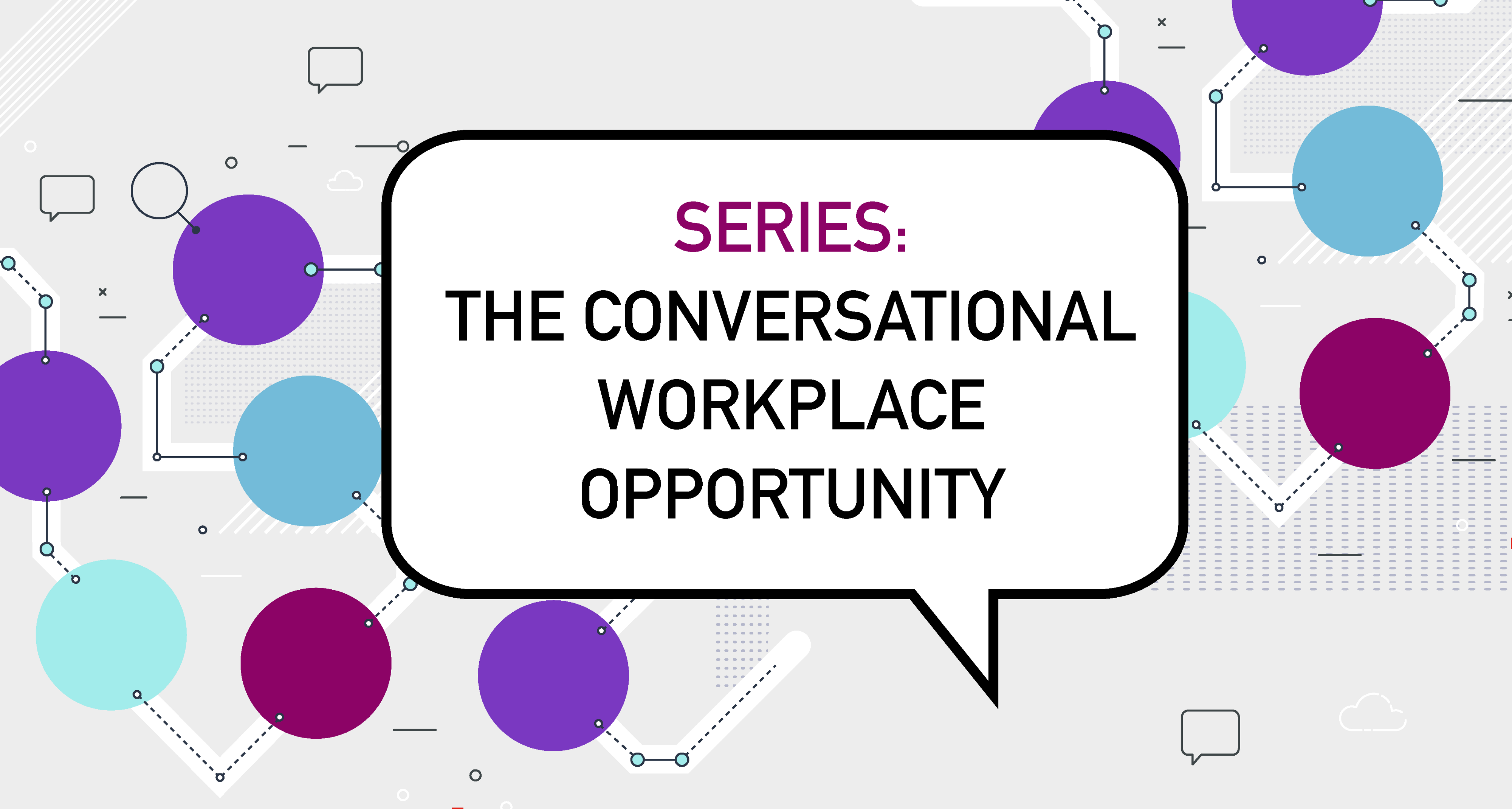 Conversational workplace opportunity banner