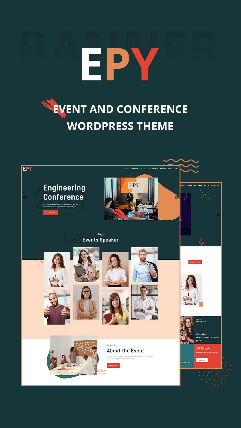 Event and Conference WordPress Theme | Iqonic Design  New: EPY — Event & Conference WordPress Theme 1 MzuDhFCiCcdBQ5CoYW20yw