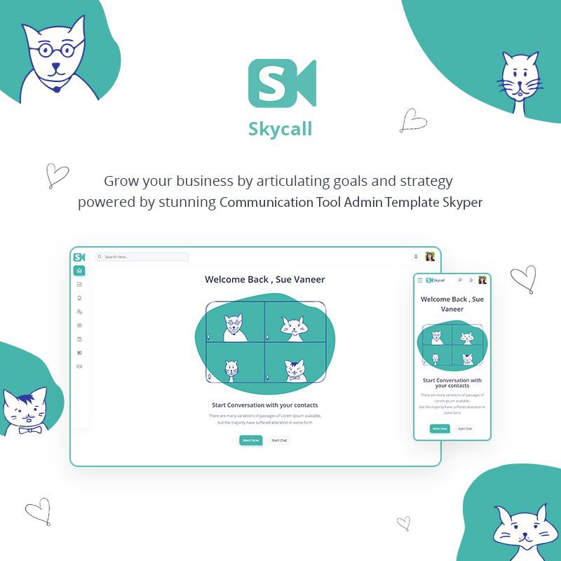 Communication Admin Template | Skycall | Iqonic Design  10 Winning Bootstrap Admin Dashboard At Snap Of Your Finger! 1 Qx2XAMt8ty6yZX1xVn2eAQ